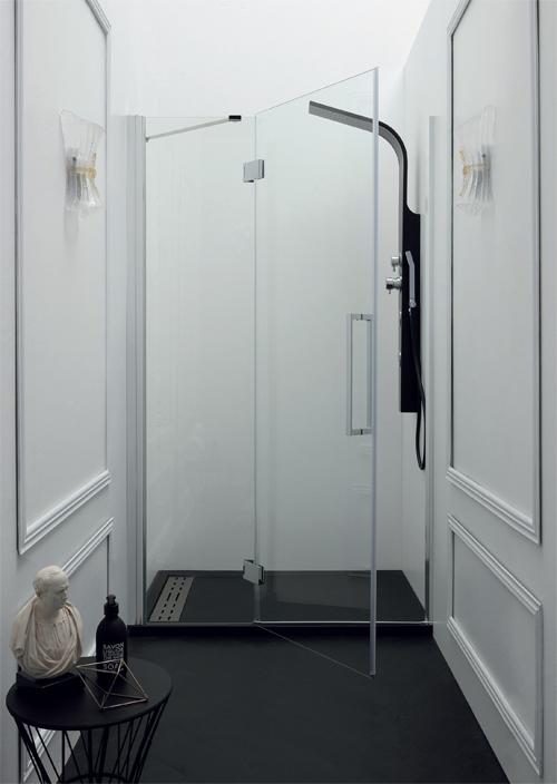 Porta Box Doccia A Nicchia.Porte Doccia Per Nicchia Porta Box Doccia Battente Da 85 A 140 Cm