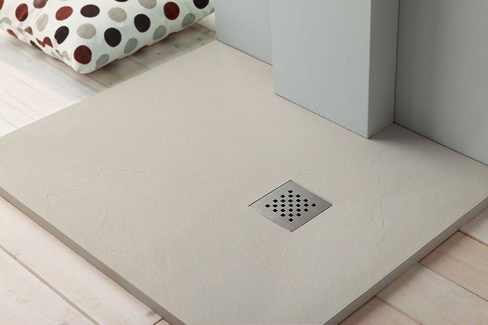 Piatti doccia : piatto doccia quadrato in marmo resina