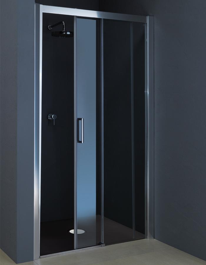 Porte doccia per nicchia : porta box doccia scorrevole da 100 a ...